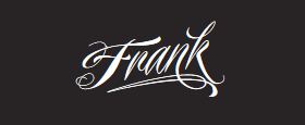 Frank Restaurant and Bar Logo Logo
